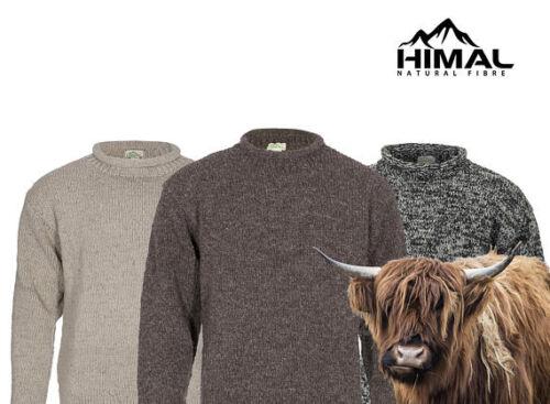 Thick and Warm Turtleneck Himal Yak Wool Roll-Neck Jumper 100/% Tibetan Yak Wool