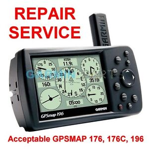Repair-Service-for-Garmin-GPSmap-196-176-176C-Color-Chartplotter-GPS-Fix