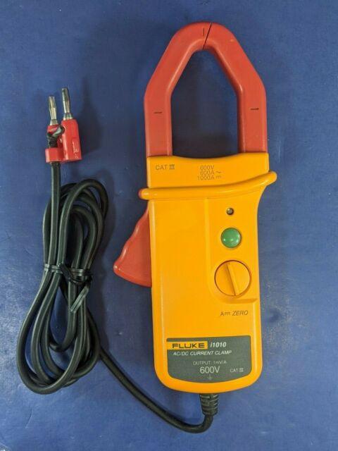 600A AC 600V Voltage Fluke I1010-Kit AC/DC Current Clamp Kit with ...