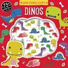 Super Sticker Activity: Dinos by Silver Dolphin Books (Paperback / softback, 2016)