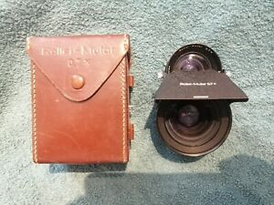 Used-Rollei-Mutar-0-7x-0-7-Wide-Conversion-Lens-For-Flex-2-8-With-Case