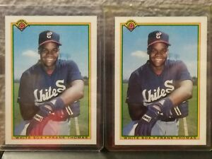 FRANK-THOMAS-CHICAGO-WHITE-SOX-HOF-1990-BOWMAN-ROOKIE-2-CARD-LOT-ROOKIE-ROOKIE