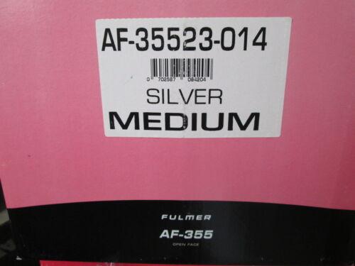 Fulmer Silver Open 3//4 Face Silver Helmet AF355 AF-355 014