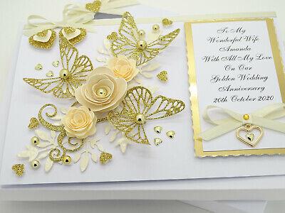 Handmade Personnalisé de Chine 20th 20 anniversaire de mariage carte