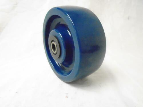"5/"" x 2/"" Swivel Caster w// Brake Solid Polyurethane Elastomer Wheel Tool Box"