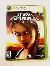 Lara Croft: Tomb Raider - Legend (Xbox 360, 2006) Free and Fast Shipping Games