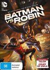 DC Universe - Batman Vs. Robin (DVD, 2015)