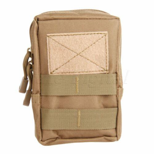 Tactical Military 600D Cordura Molle Waist Pack Bag Outdoor Camping Hiking Pouch