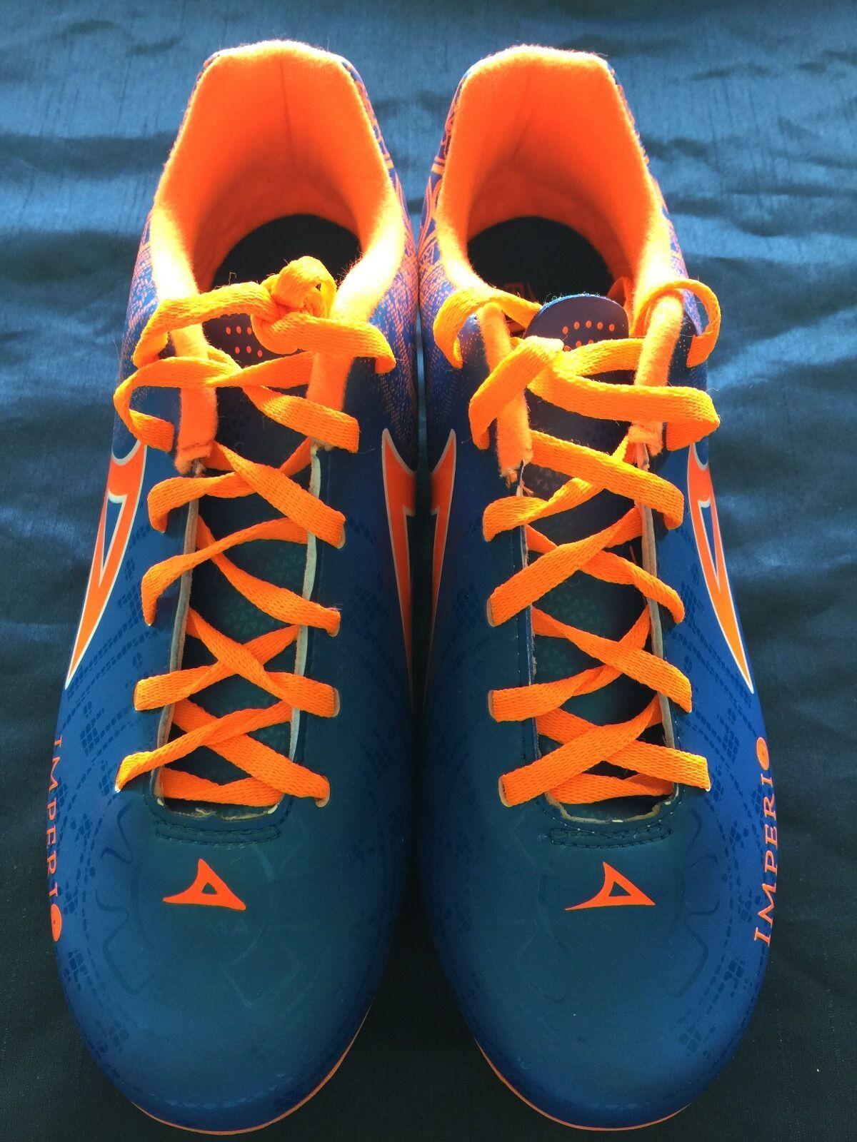 nuovo, PIRMA Imperio Light, cleats-Style 550-blu, Futbol, Footbtutti,Dimensione 6.5
