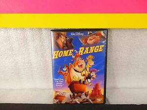 Home on the Range on dvd