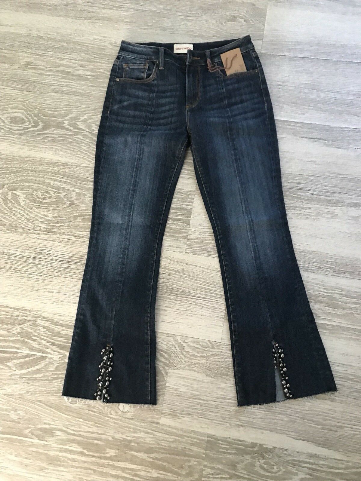 Anthropologie Driftwood Roxy Flare Jeans size 26