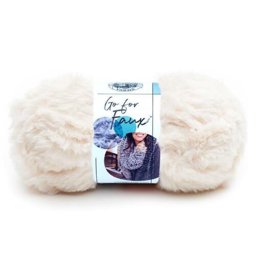 3.5oc//100g Baked Alaska Crochet Lion Brand Yarn Go For Faux Yarn 322-098