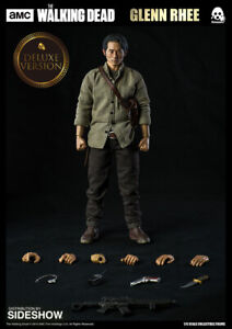 The Walking Dead Glenn Rhee Version Deluxe Threezero Sideshow Figure d'action 1/6