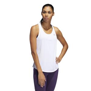 Detalles de Adidas Mujer Atletismo Run It Camiseta de Tirantes Gimnasio Ejercicio