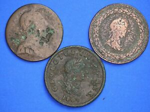 George-III-coin-collection-lower-grade-half-penny-20123