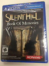 Silent Hill Book Of Memories for Playstation Vita Brand New! Factory Sealed!