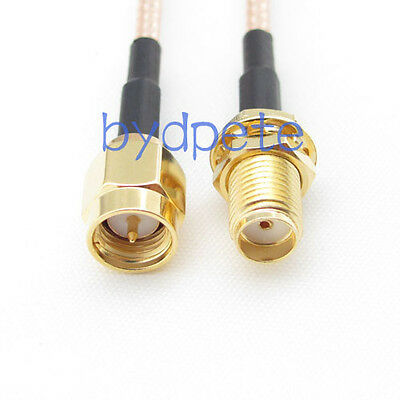 12inch RG316 SMA male plug to SMA female jack RF Pigtail Coax Jumper Cable 30cm