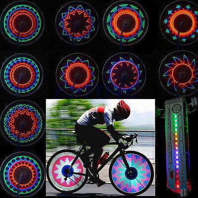 Car Motorcycle Cycling Bike Bicycle Tire Wheel Valve Flashing Spoke 16 LED Light