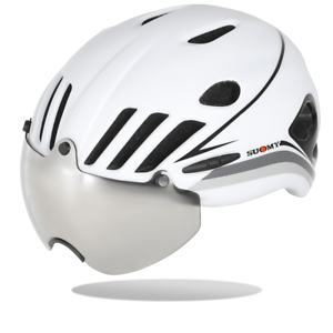 Suomy Vision  Road Cylcing Helmet with Mirrored Visor, Various colors  outlet sale