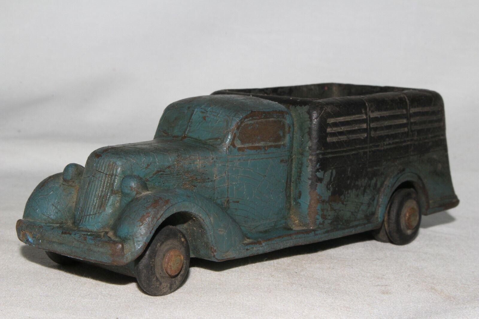 orden ahora disfrutar de gran descuento Arco iris de goma 1935 Studebaker Estaca Estaca Estaca Camión, Azul, Original  el mas reciente