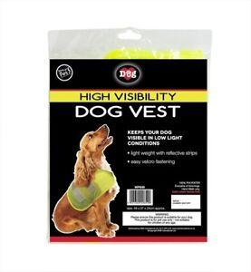 World-of-Pets-Hi-Vis-Dog-Vest-safety-walking-velcro