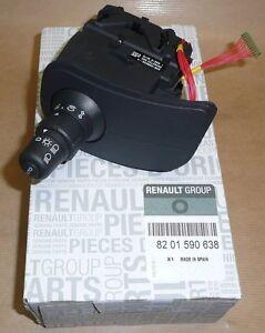 Blinkerschalter Lichtschalter Clio III Kangoo II original 8201590638