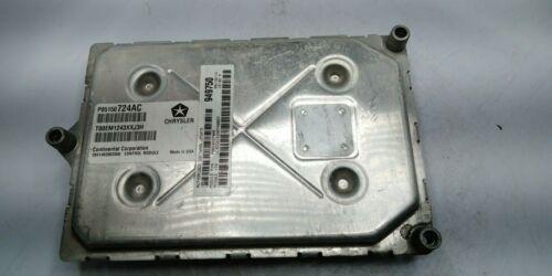 2013 Dodge Avenger P05150724AC Computer Brain Engine Control ECU ECM EBX Module