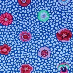 Free-Spirit-Kaffe-Fassett-Classics-Guinea-Flower-PWGP059-Cobalt-Contemporary-BTY