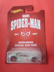 HOT-WHEELS-MARVEL-SPIDER-MAN-SCOOPA-EXCLUSIVE-EST-2017-VOITURE-R-3726