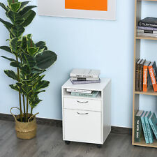 Rolling Filing Cabinet Storage With Drawer Amp Shelf Home Office Furniture