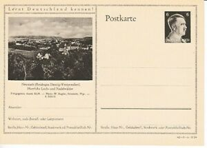 German-Reich-Stationery-P-305-Neustadt-Danzig-East-Prussia