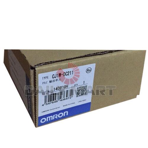OMRON Automation /& Safety CJ1W-OC211 CJ1WOC211 Relay I//O Module Sysmac PLC Unit