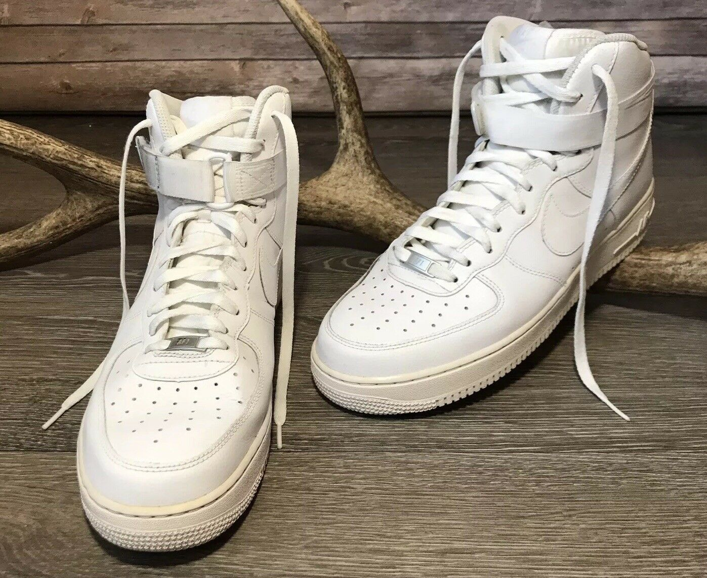 online store 776bc 0289f Nike Air Force 1 High 07 Men s shoes shoes shoes Sneakers 315121-115 12  Solid