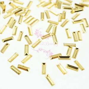 500pcs-Japanese-Style-Studs-Rivets-Rectangle-3D-Nail-Art-Manicure-Design-Decor