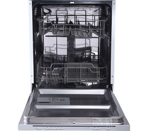 ESSENTIALS CID60W16 Full-size Integrated Dishwasher - Currys