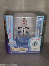 Takara Tomy Little Taps Pop n Step Disney Frozen Olaf  Music Japan Littletaps