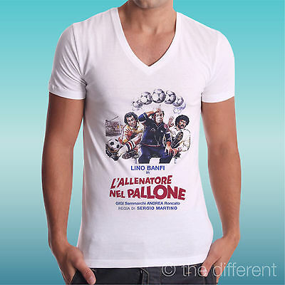 MEN/'S T-SHIRT L/'ALLENATORE IN BALL VINTAGE FILM GIFT IDEA ROAD TO HAPPINESS