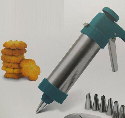 Spritzgebäck Kekse Presse Dekopistole Weihnachts Plätzchen Kuchen Backen