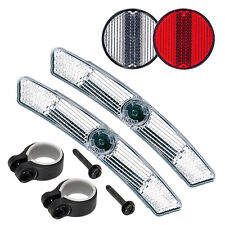 Cateye Reflector Kit Front And Rear Reflectors With Mounts Ebay