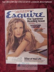 ESQUIRE-July-1999-Esther-Canadas-Evel-Knievel-Ernest-Hemingway-Raymond-Carver