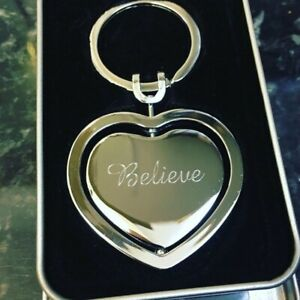 Valentines-Love-Heart-Key-Chain-Key-ring-Personalised-Heart-Loved-Ones-Gift-WIfe