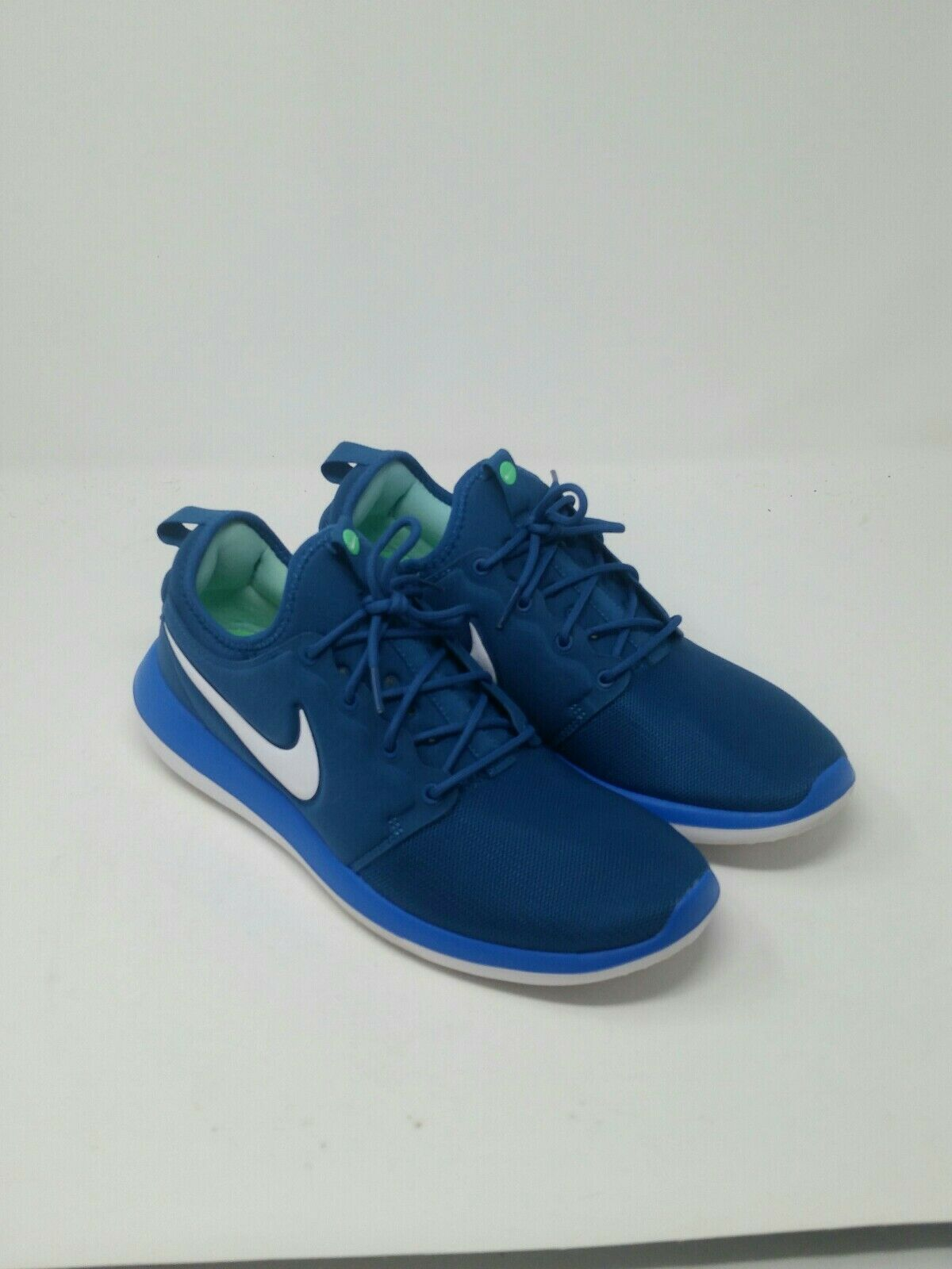 Nike Men's Roshe Two Running shoes Industrial bluee White Size 10 US