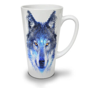 Forest Wolf Pixel Life NEW White Tea Coffee Latte Mug 12 17 oz | Wellcoda