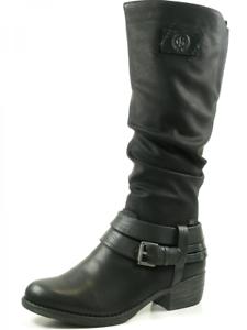 Rieker 93158-00 zapatos señora botas cálidas forro rieker-Tex