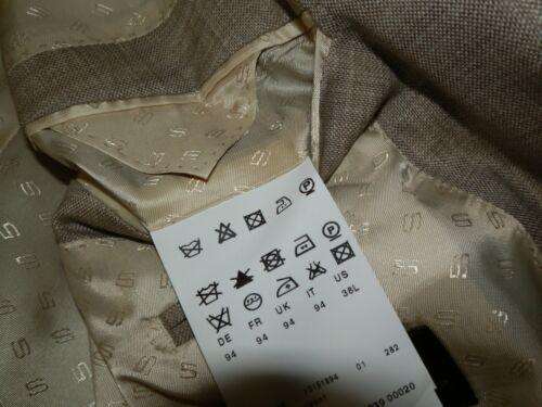 Hugo Boss Fratelli Tallia di Delfino selection suit blazer jacket 38L 94 Medium