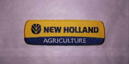 A532 PATCH ECUSSON NEW HOLLAND AGRICULTURE 10*3,5 CM