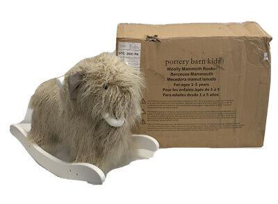 Pottery Barn Kids Wooly Mammoth Rocker New Ages 1 5 Ebay
