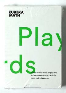 Details about Eureka Math Playing Cards Math Learning Cards for Children