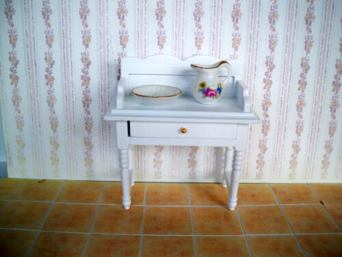 miniatura LAVABO BIANCO-Casa delle Bambole Miniatura 1:12