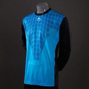 UHLSPORT-Solar-GK-Shirt-MAILLOT-GARDIEN-Football-XXL-Bleu-NEUF-Homme-100551202